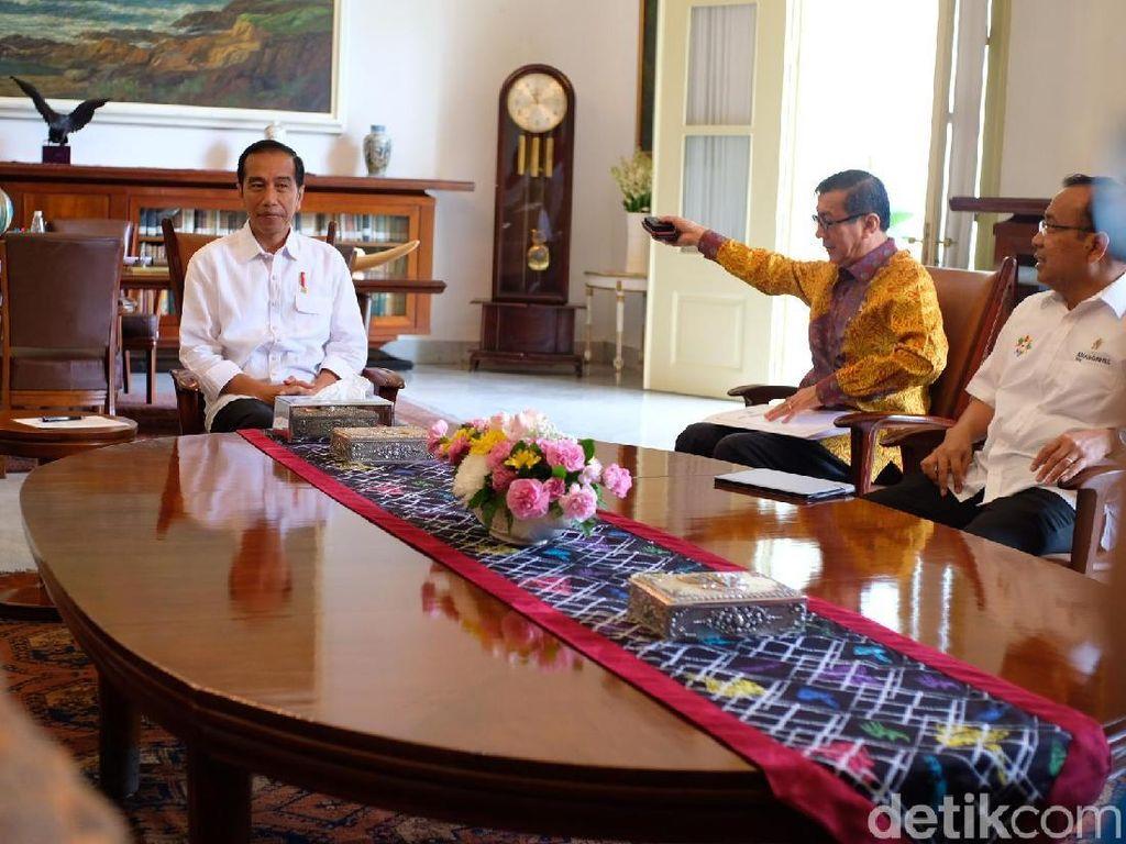 Bawaslu Temui Jokowi Laporkan Evaluasi Pilkada 2018