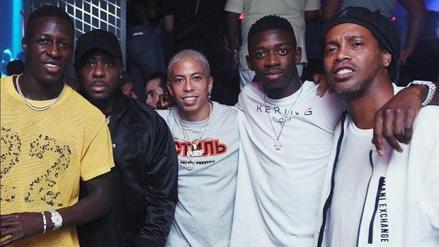Benjamin Mendy, Ousmane Dembele, dan Ronaldinho
