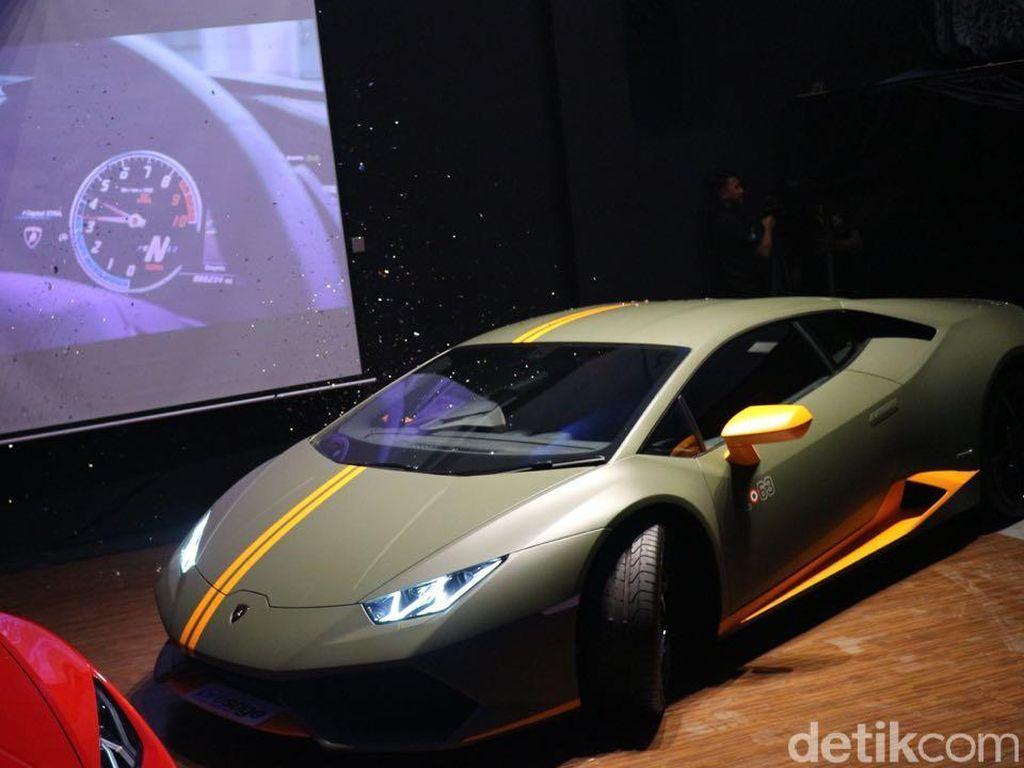 Wih! Supercar Lamborghini Ini Cuma Ada 1 di Indonesia