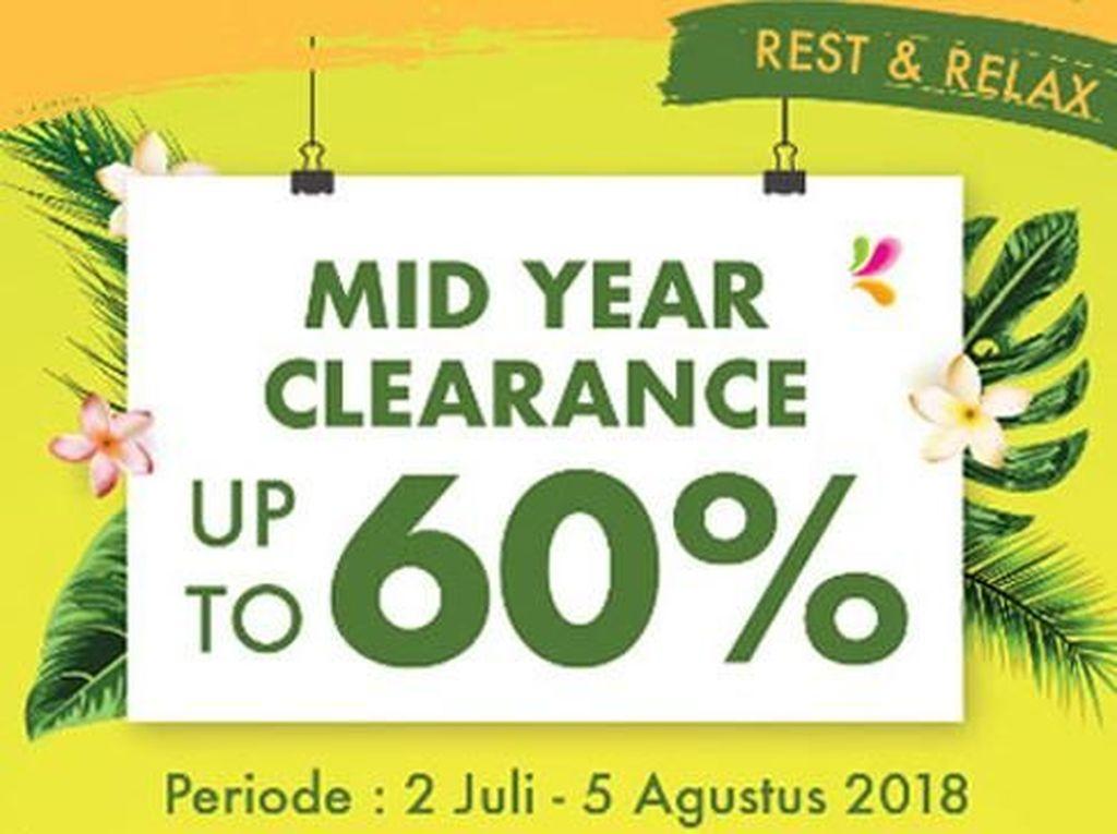 Cuci Gudang Index Living Mall, Diskon Hingga 60%