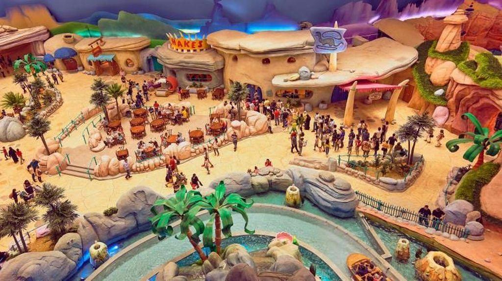 Penampakan Taman Rekreasi Senilai Rp 14,4 T di Abu Dhabi