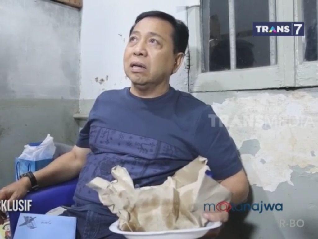 Mencurigakan! Novanto Diduga Tempati Sel Palsu Saat Disidak