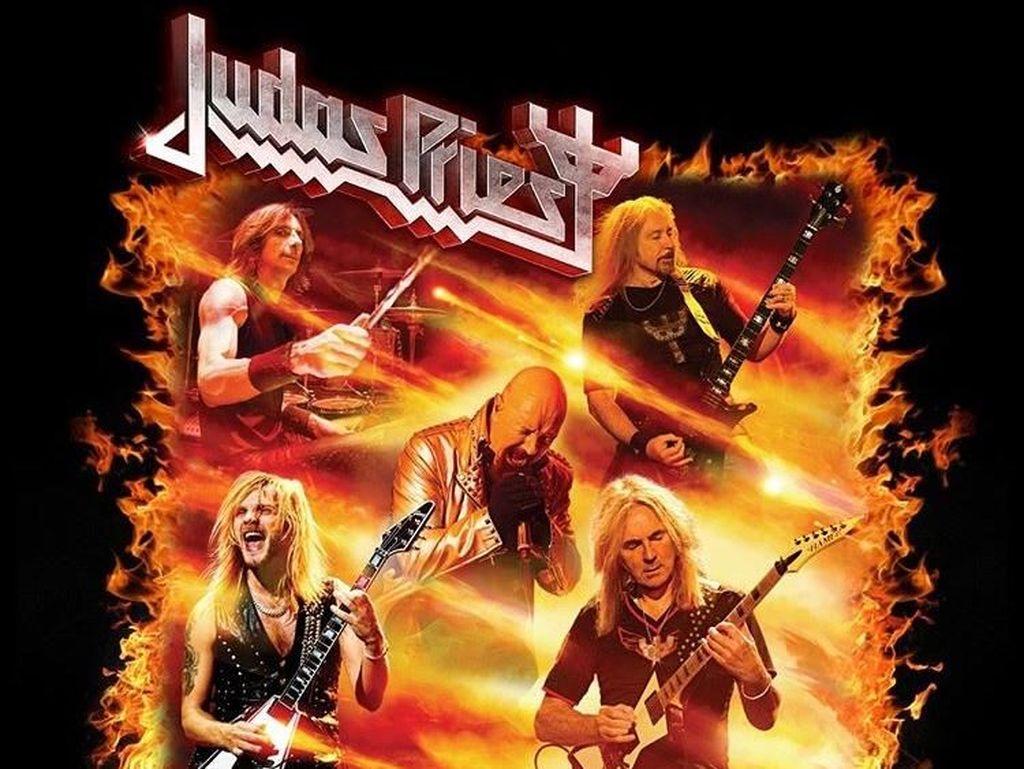 Jadi Kado untuk Jokowi, Ini Harga Tiket Konser Judas Priest