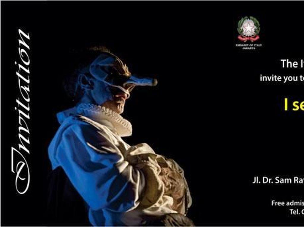 Maestro Teater Asal Italia Enrico Bonavera Unjuk Gigi di Jakarta