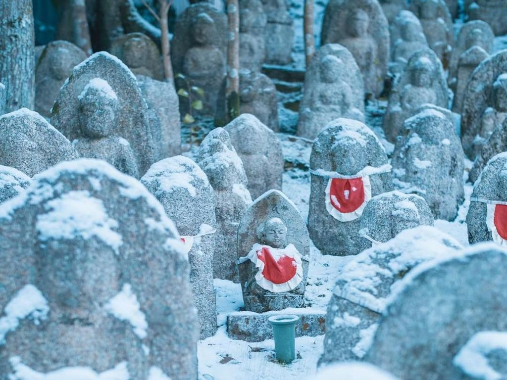 Foto: Benda Keramat Penjaga Arwah Anak dari Kyoto