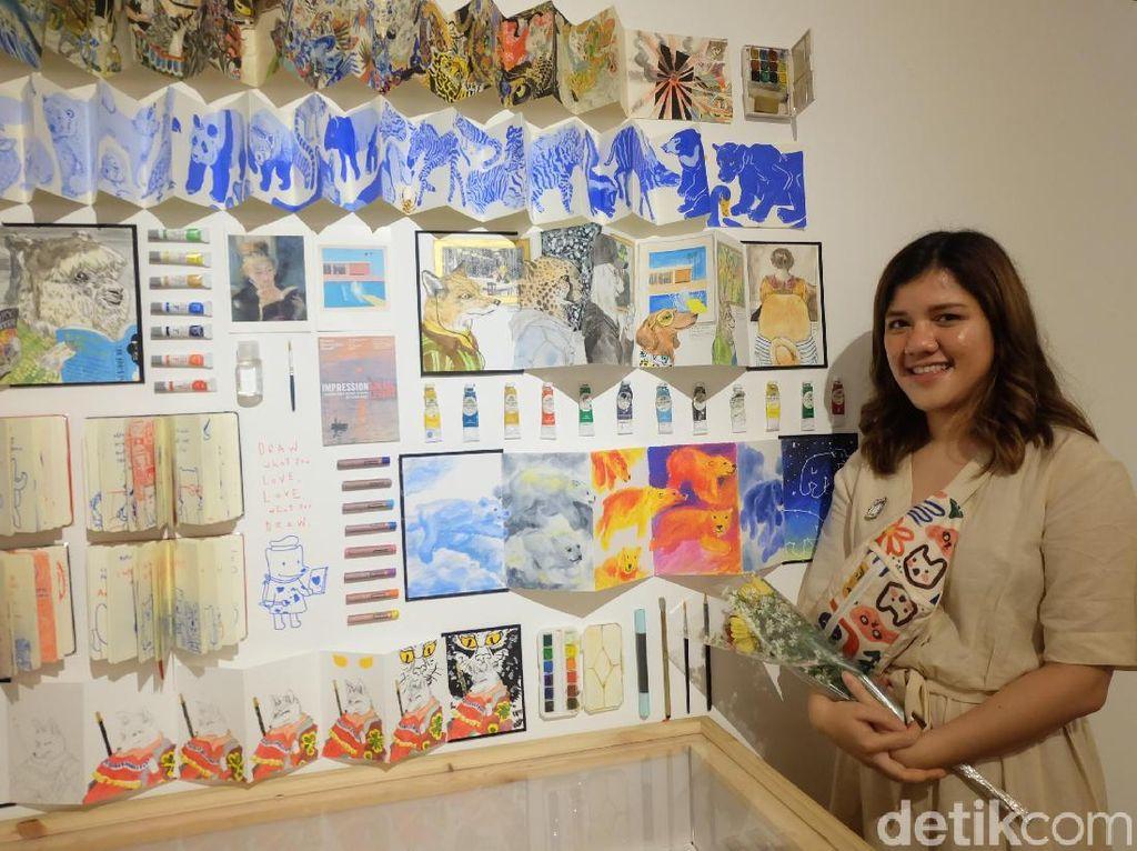 Buku Kumpulan Ilustrasi Choo Choo Ajak Pembaca Tak Merasa Sendiri