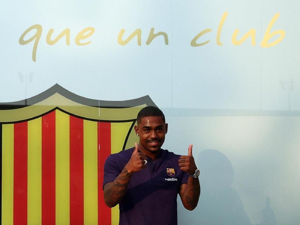 Barcelona Minta Maaf Bajak Malcom, AS Roma: Beri Kami Messi