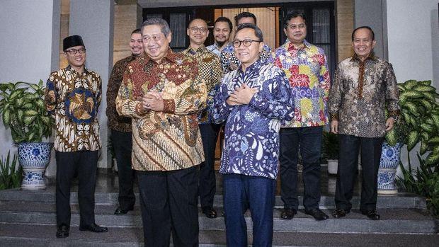 Panggung 'Drama' SBY dan Upaya 'Menjual' AHY di Pilpres 2019