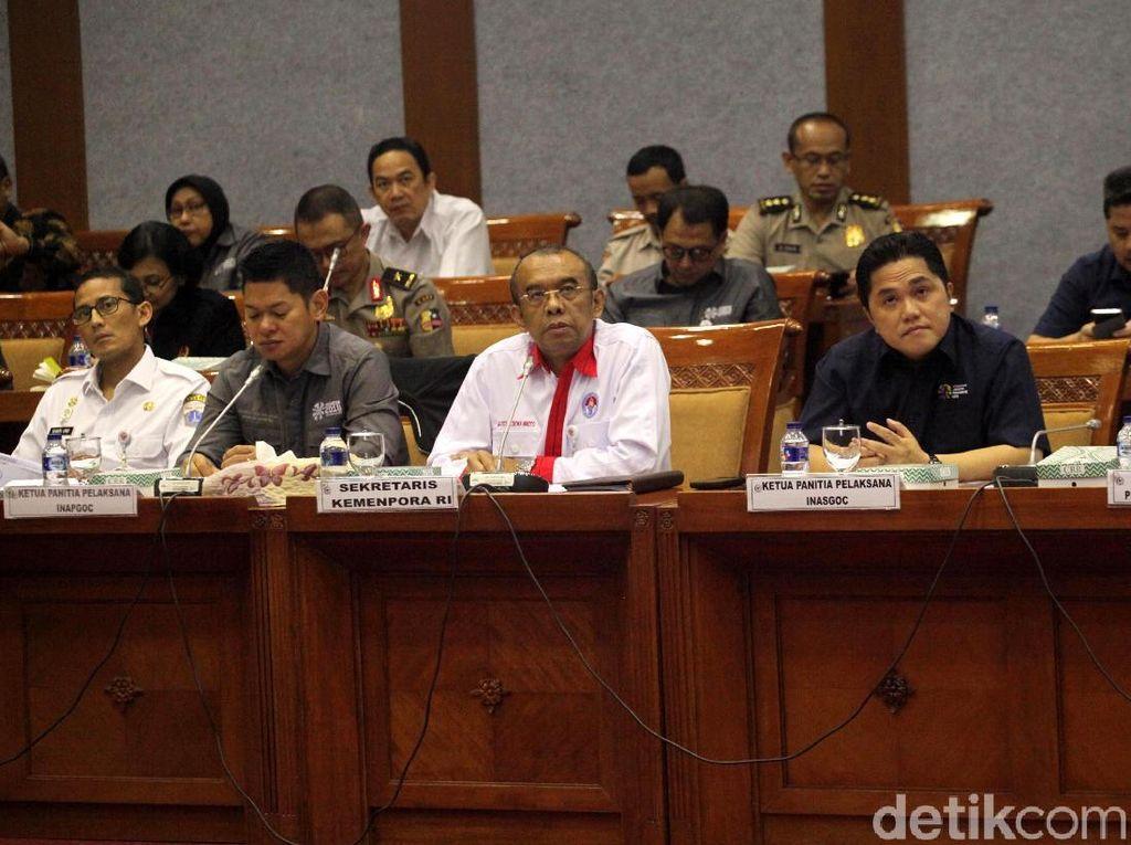 Komisi X DPR Gelar Rapat Bersama Bahas Persiapan Asian Games 2018