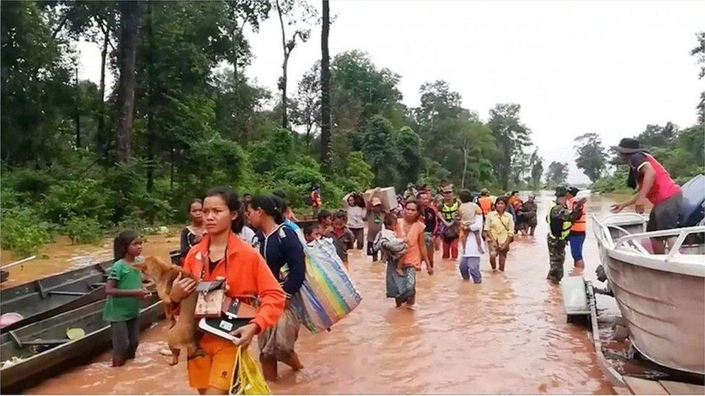 Ratusan Hilang Usai Bendungan Jebol di Laos, Pencarian Digencarkan