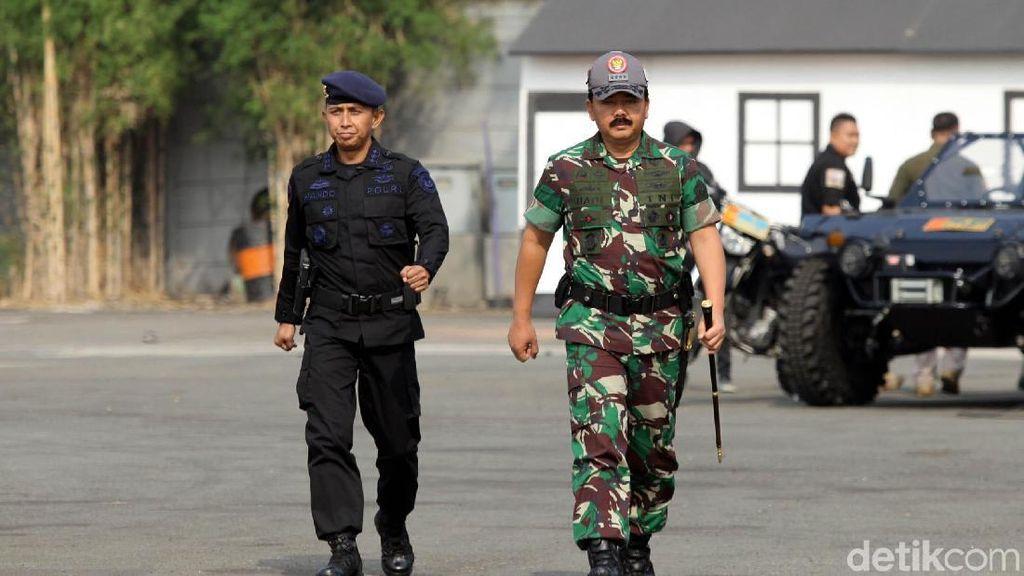 Panglima TNI Tutup Latihan Gabungan Pengamanan Asian Games