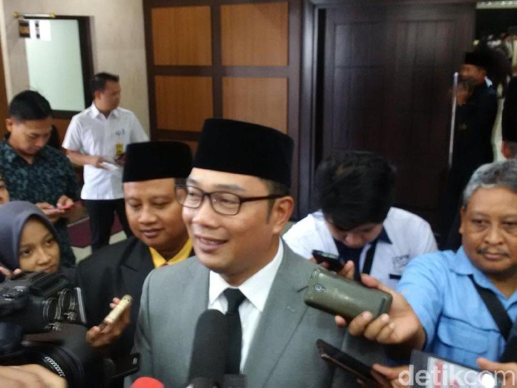 Ridwan Kamil Titip Urusan Informal Pada Wakilnya Uu