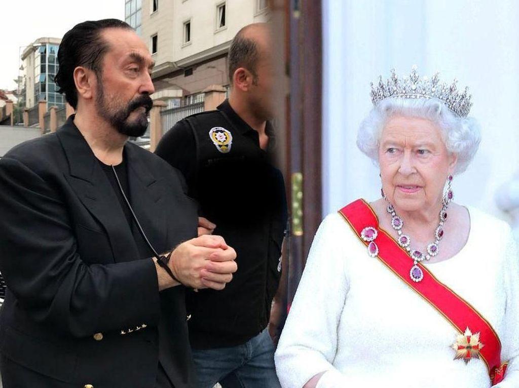 Harun Yahya Sebut Ratu Inggris Minta Erdogan Tangkap Dirinya