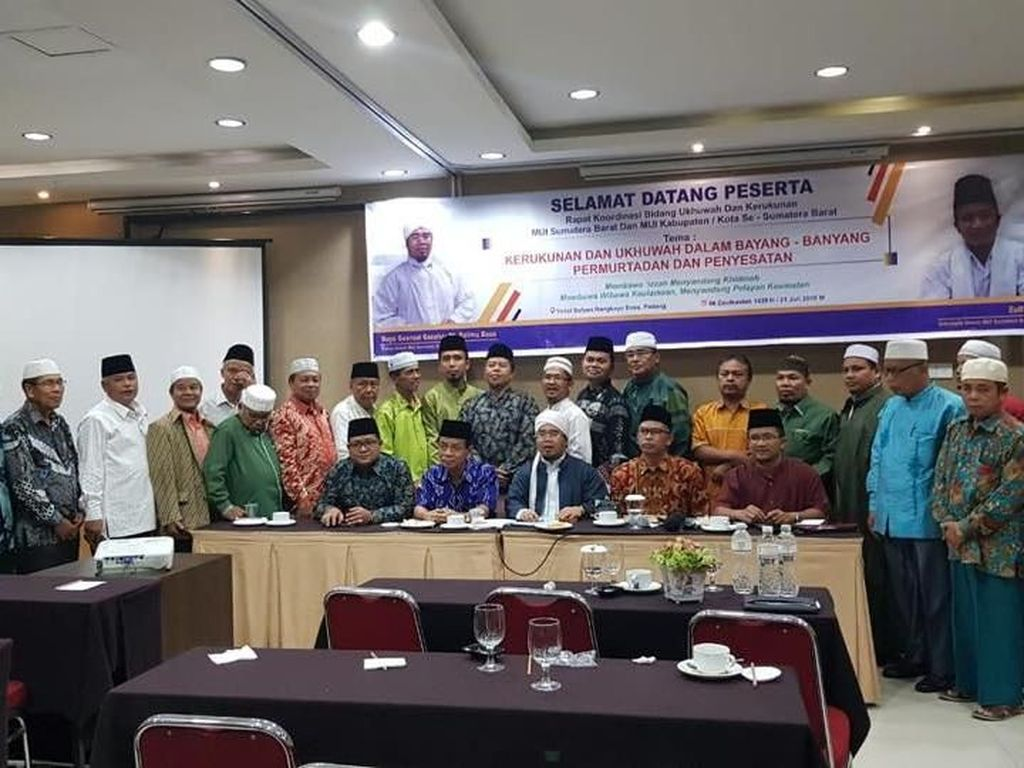 MUI Sumatera Barat Tolak Islam Nusantara