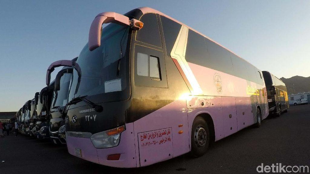 1.400 Bus Disiapkan untuk Angkut Jemaah Indonesia