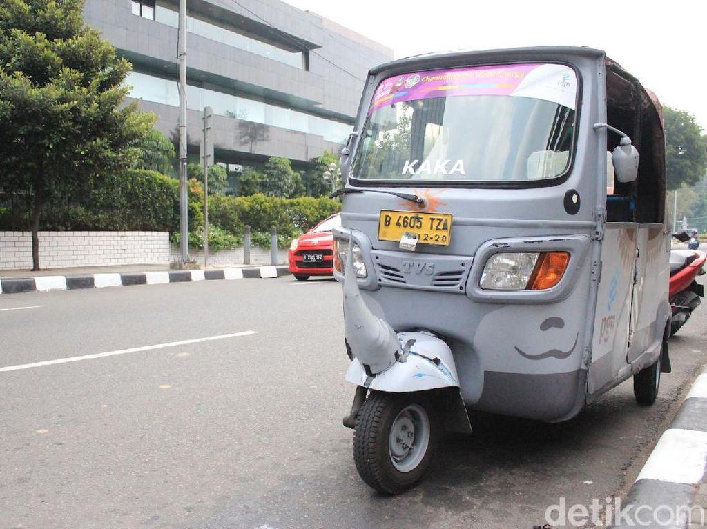 Warga Jakarta Bisa Jajal Bajaj yang Dihias ala Hewan Khas Indonesia