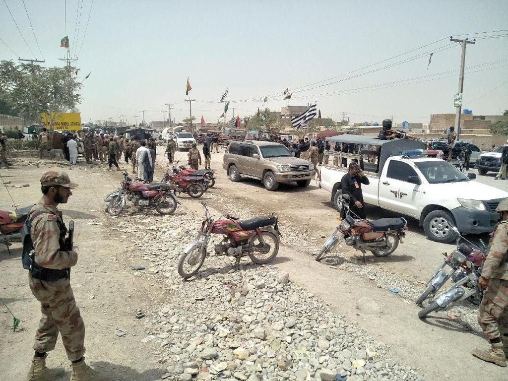 24 Orang Tewas Akibat Bom Bunuh Diri saat Pemilu di Pakistan