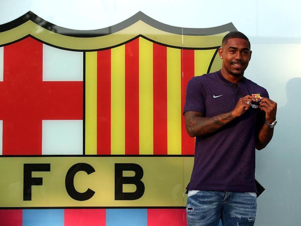 Lika-Liku Transfer Malcom: Everton, Inter, Roma, dan Berujung di Barca