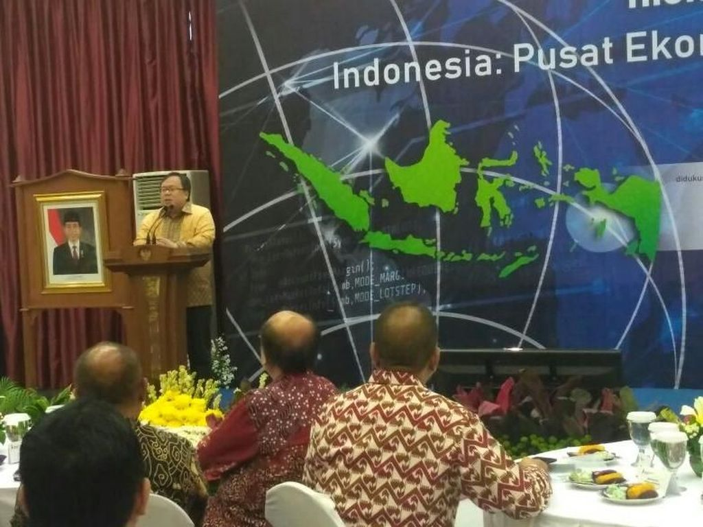Menteri-menteri Jokowi Kumpul Bareng Bahas Ekonomi Syariah