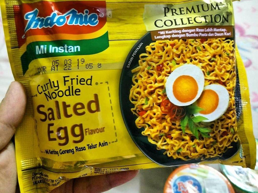 Yang Terbaru dan Bakal Hits, Mie Instan Rasa Telur Asin!