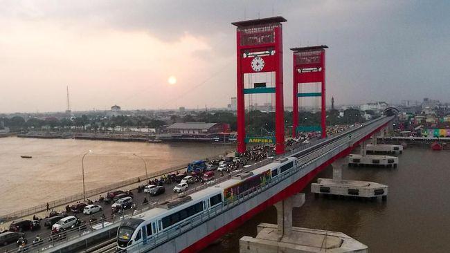 Lagi-lagi LRT Palembang Mogok, Kini Hampir 2 Jam