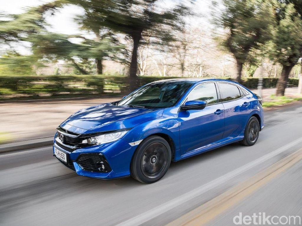 Pertama Kali, Honda Kawinkan Transmisi 9 Speed di Civic Diesel
