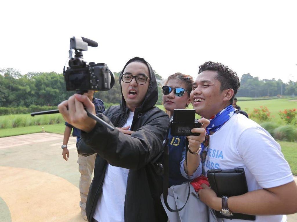 Kemal Palevi Keliling 5 Negara, Jadi Wartawan Dadakan untuk Asian Games 2018