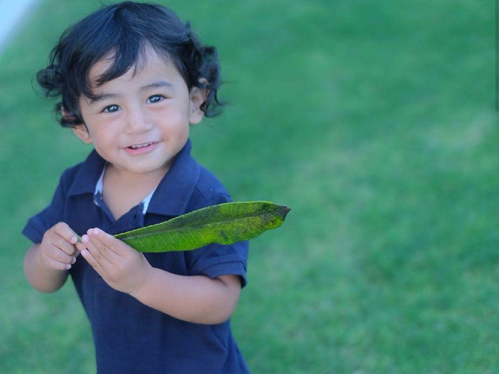 10 Potret Menggemaskan Bambang, Anak Bungsu Meisya Siregar