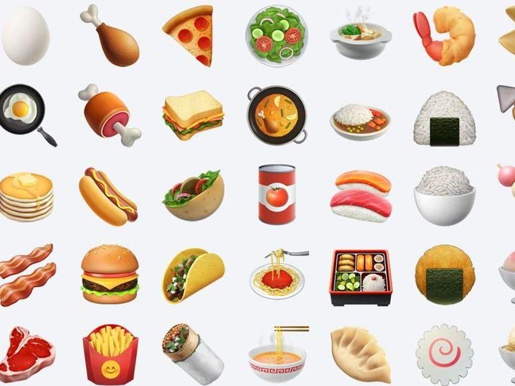 Pilihan Emoji Makanan Favorit Ternyata Bisa Gambarkan Karakter Anda