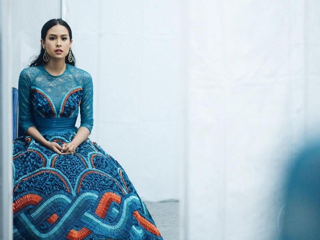 Foto: Penampilan Stylish Maudy Ayunda yang Dipuji Penulis Fashion Vogue