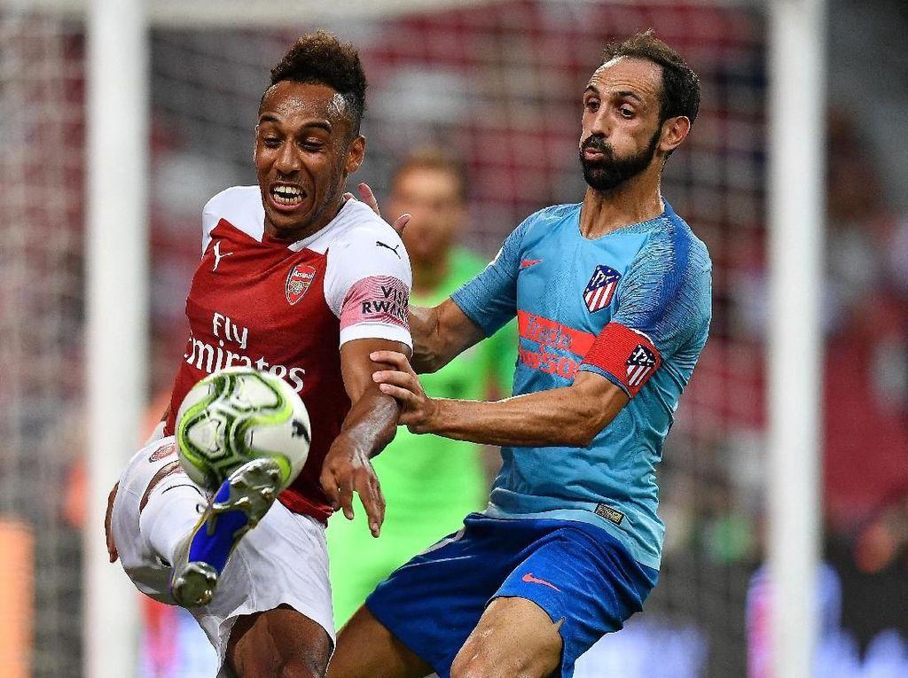 Hasil ICC 2018: Atletico Kalahkan Arsenal Lewat Adu Penalti