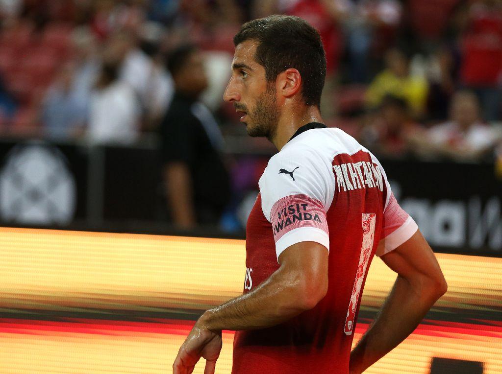 Arsenal Gagal Juara Liga Europa, Mkhitaryan Ganti Foto Twitter