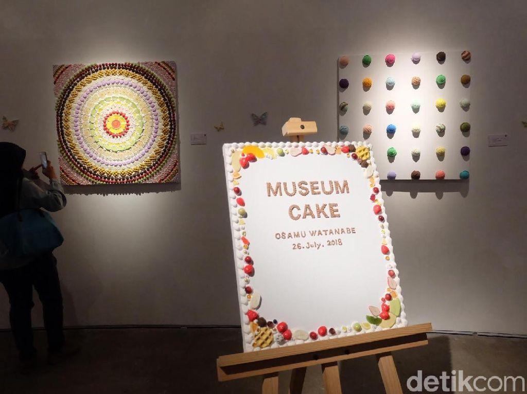 Museum Cake Kreasi Seniman Jepang Osamu Watanabe Dibuka di Jakarta