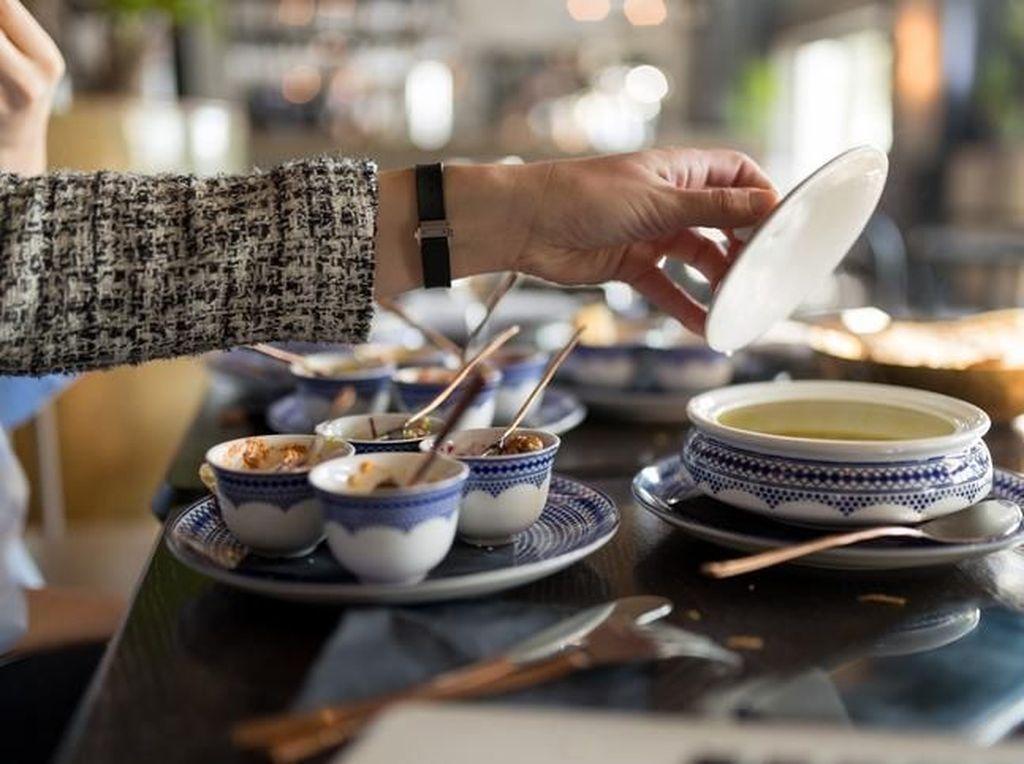 Suruh Pria Berhenti Merokok di Restoran, Wanita Ini Disiram Sup Panas