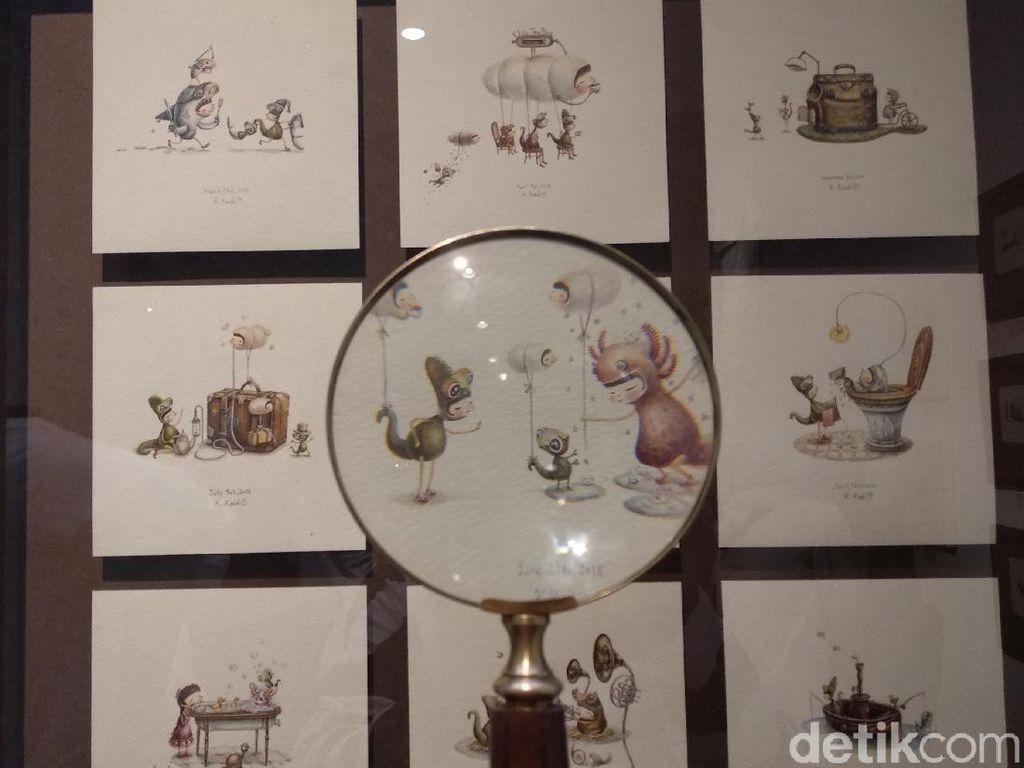 Imajinatif! Miniatur Karya Ilustrator Jepang Bisa Dilihat di Jakarta