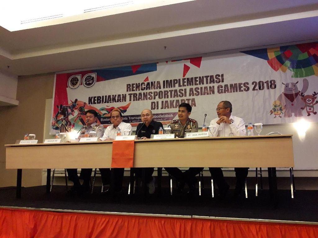 Penutupan 19 Pintu Tol Saat Asian Games Diputuskan Usai Simulasi