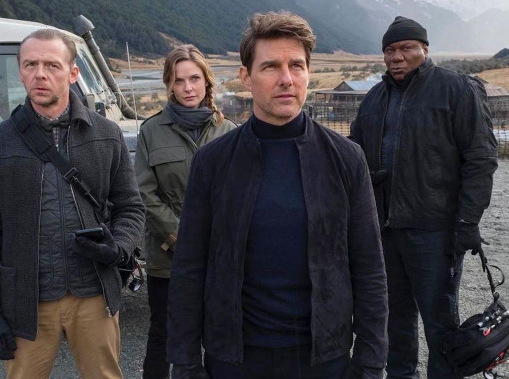 Hindari Corona, Mission: Impossible 7 Tak Lanjutkan Syuting di Italia