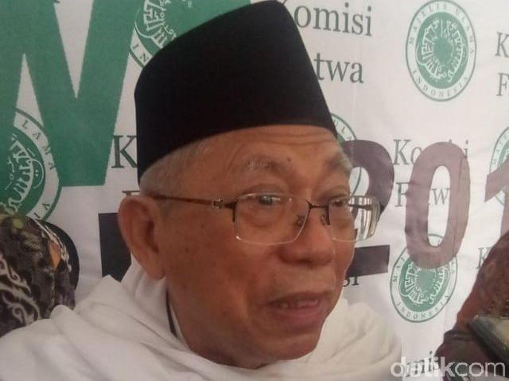 Soal Cawapres Jokowi, Maruf Amin: Inisial M Kan Banyak