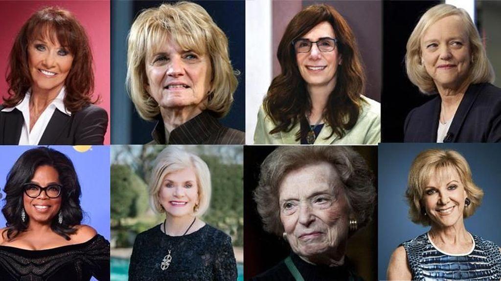 Tanpa Warisan, Para Wanita Ini Masuk Daftar Orang Terkaya AS