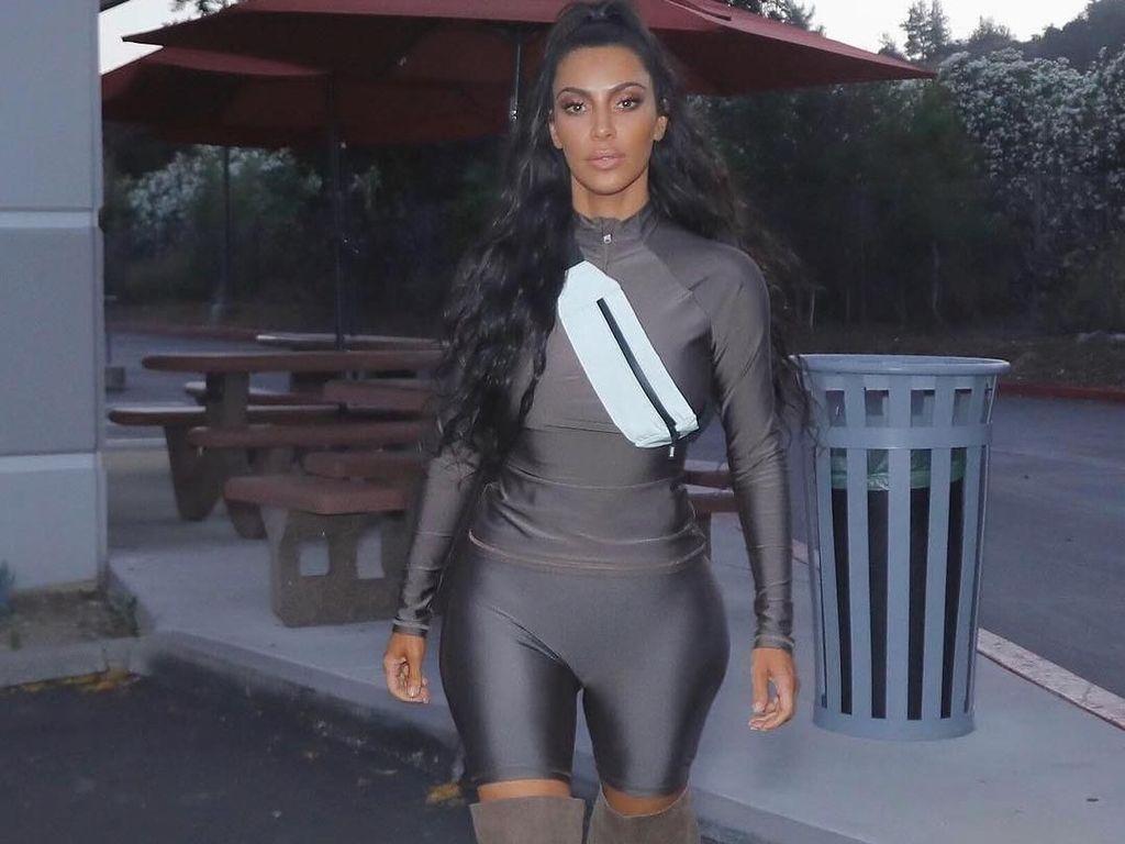 Bicycle Pants Jadi Tren Lagi Gara-gara Kim Kardashian, Diincar Fashionista