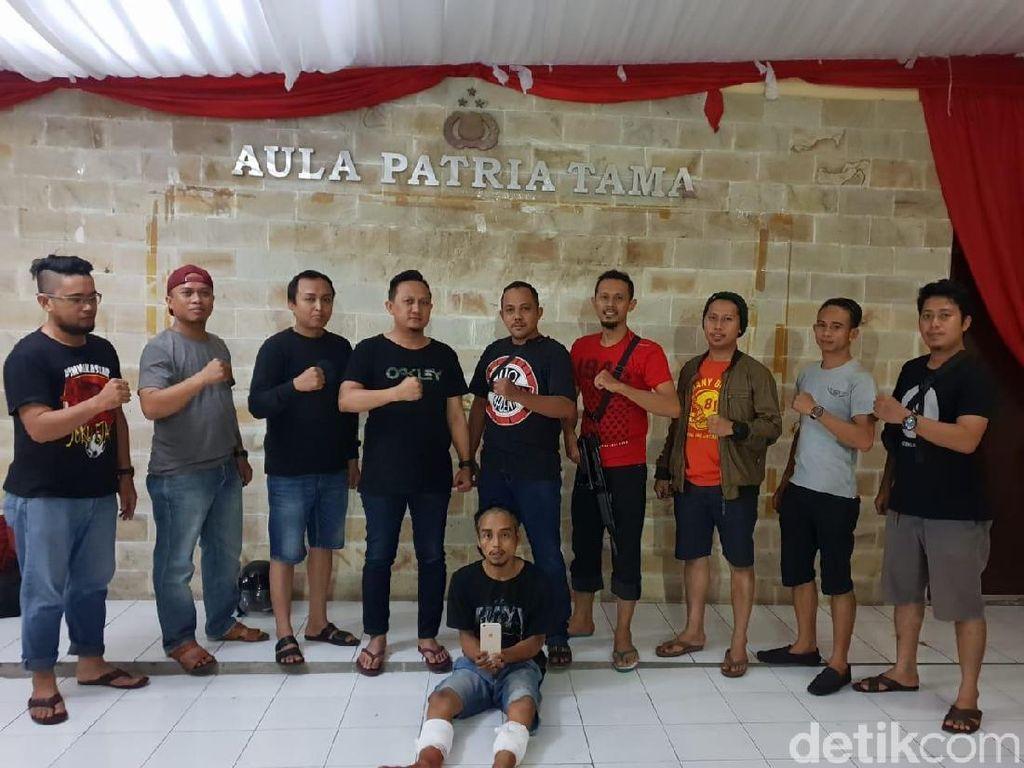 Rampas HP Polwan di Makassar, Penjambret Ditembak Polisi