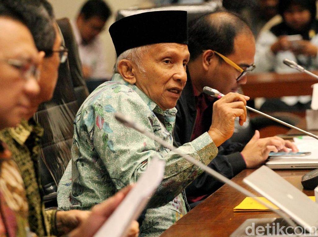 Amien Rais Sebut Ada Dajjal di Belakang Rezim Jokowi