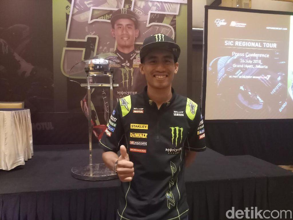Tampil Oke di MotoGP, Syahrin: Nilai Saya 10