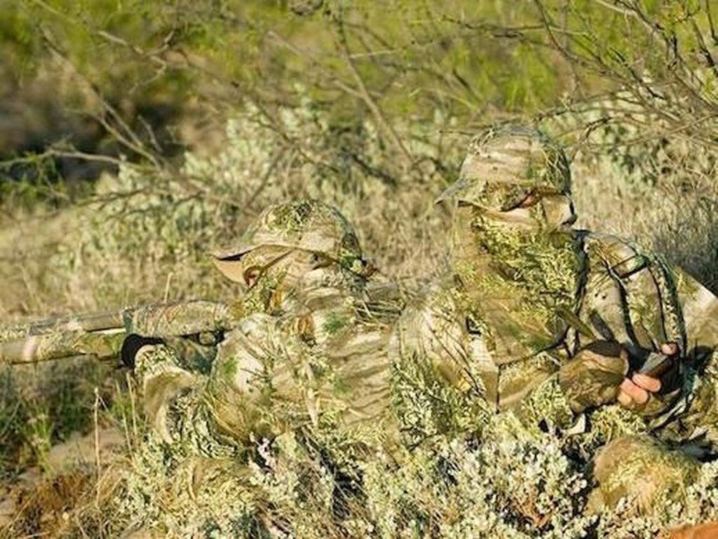 Penyamaran Hebat Pemburu Hewan Bikin Mata Bingung