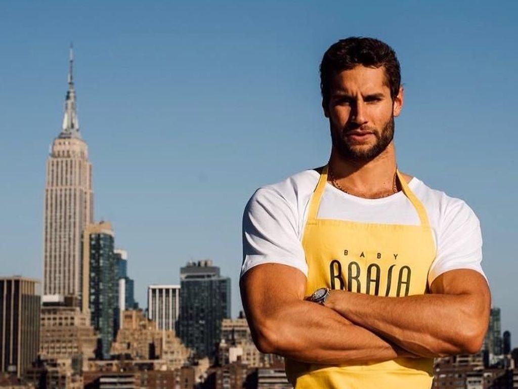 Gaya Hidup Sehat Franco Noriega, Chef Berperut Sixpack Terseksi Sedunia