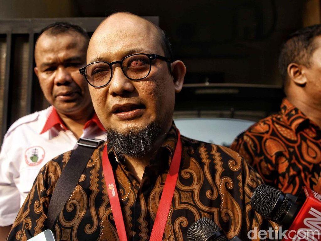 Berangkat Ngantor, Novel Dikawal Ketua PP Pemuda Muhammadiyah