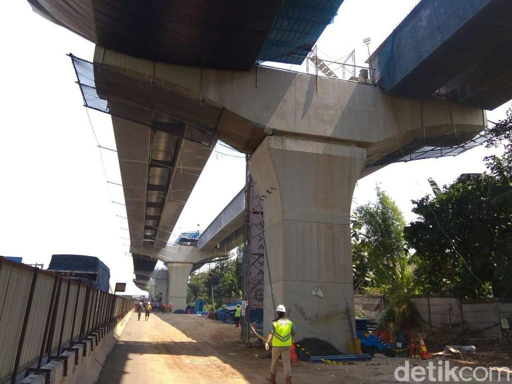 Konstruksi Tol Japek Layang Capai 40%, Maret 2019 Rampung