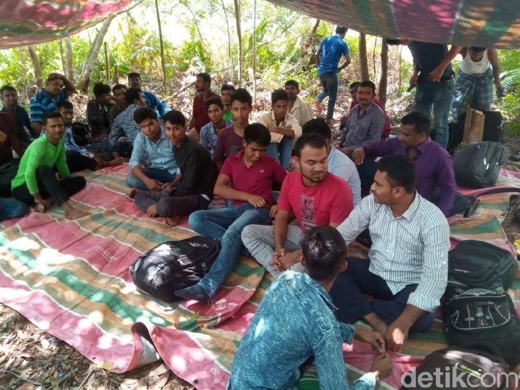 TNI Amankan 31 WN Bangladesh yang akan Diselundupkan ke Malaysia