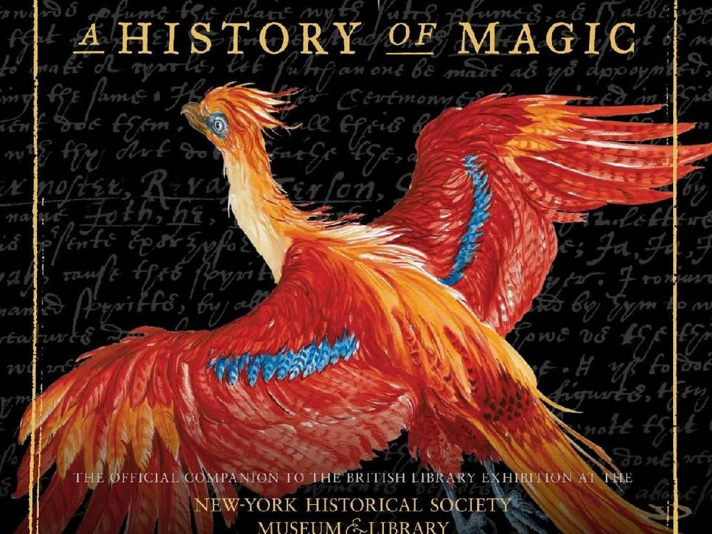 Burung Phoenix Hiasi Buku Harry Potter: A History of Magic