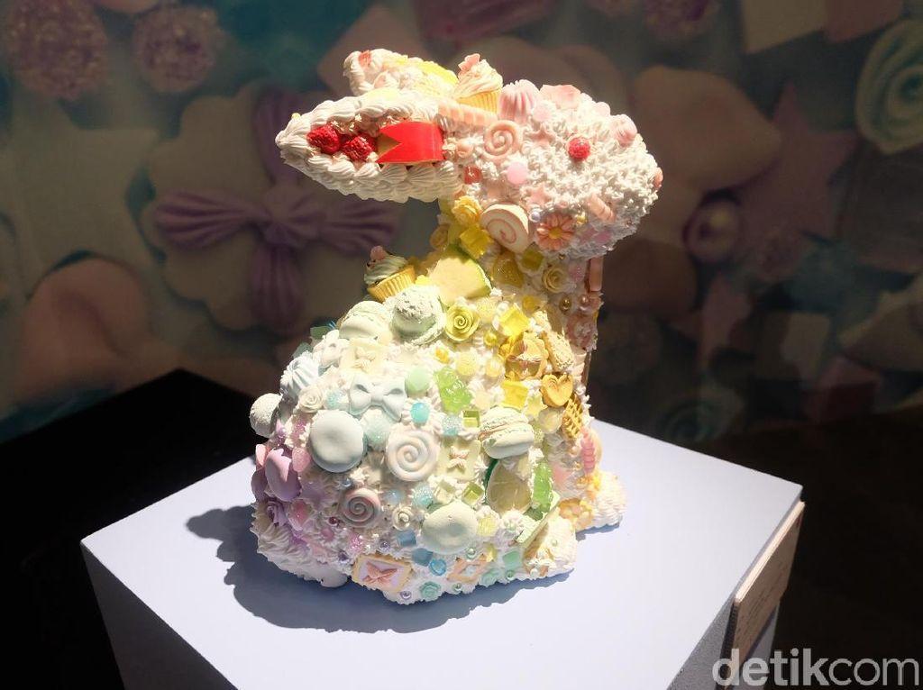 Menggemaskan! Intip Seni Krim Palsu di Museum Cake